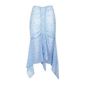 C/meo Collective So Settled Shirred Midi Skirt NWT